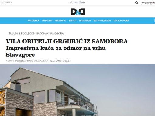 D&D: Vila za odmor na vrhu Slavagore